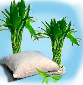 Родина экологически чистых  бамбуковых подушек