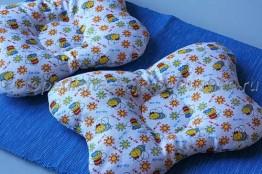 7f182d3a0af1b83 Детская подушка своими руками - выкройка, описание - Ортопедические ...