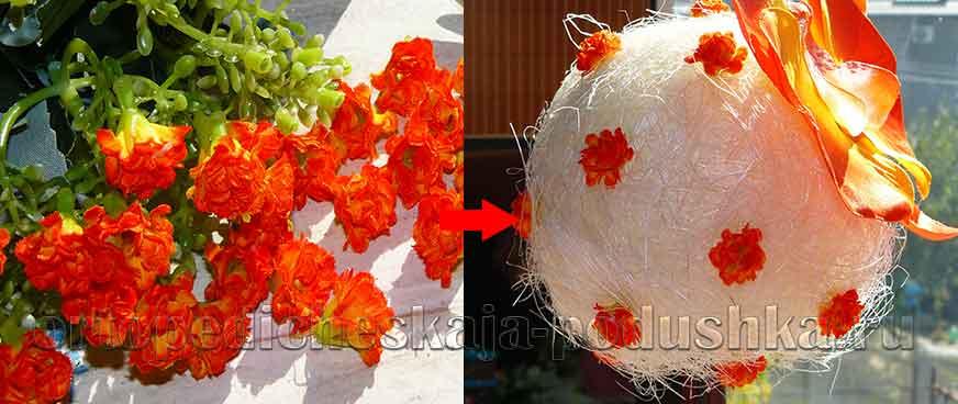 Топиарий-Орхидея-своими-руками5
